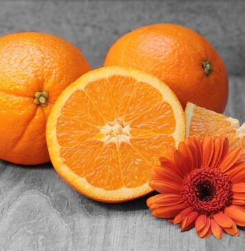 ile kcal ma pomarańcza